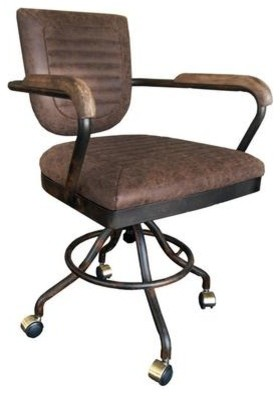 Vintage-Inspired Desk Chair - Industrial - Office Chairs - by ...