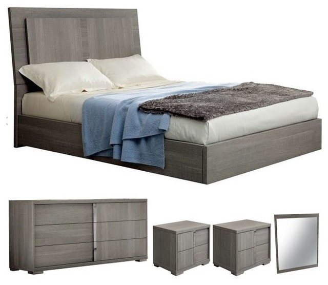 ALF Tivoli 5-Piece Bedroom Set - Contemporary - Bedroom Furniture ...