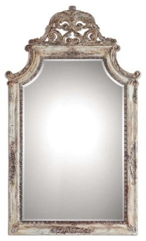 Uttermost Uttermost Portici Mirror Antique Ivory Wall