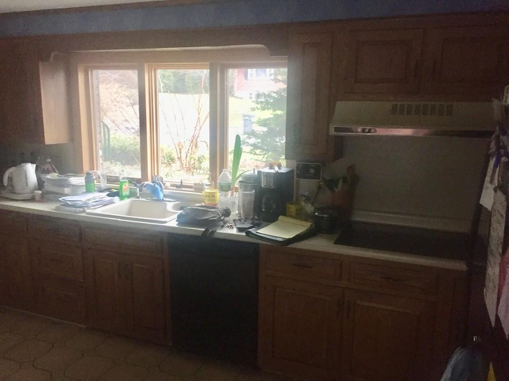 Transitional kitchen Framingham