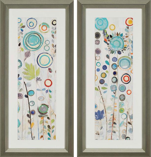 Ocean Garden Artwork, Set Of 2, ...