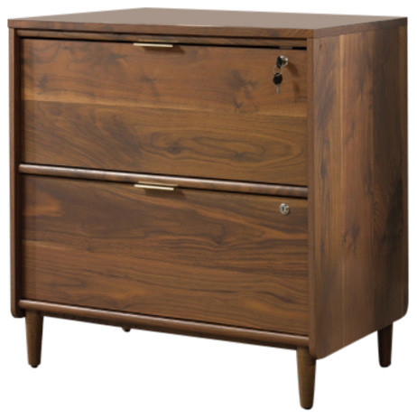 Clifford Place Lateral File Walnut