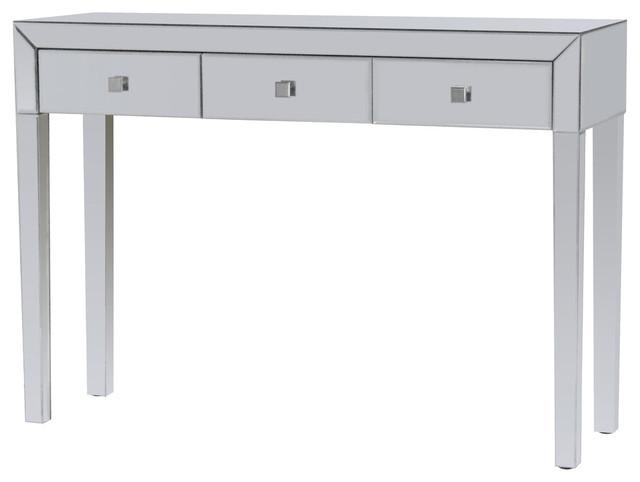 Neptune Console Table, Mirrored.