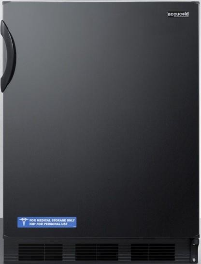 Accucold 5.1 Cu. Ft. Compact Refrigerator With Zero Degree Freezer.