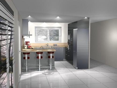 couleur meuble cuisine. Black Bedroom Furniture Sets. Home Design Ideas