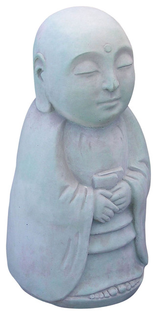 Standing Jizo Garden Statue Asian Garden Statues And Yard Art