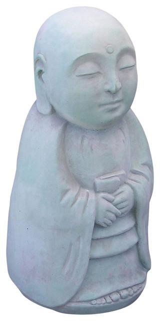 Merveilleux Standing Jizo Garden Statue