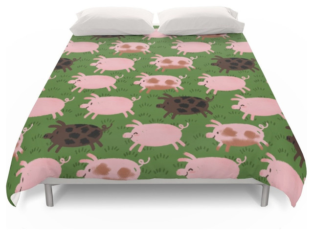 Society6 Pigs Duvet Covers Farmhouse Duvet Covers And Duvet Sets by Soc