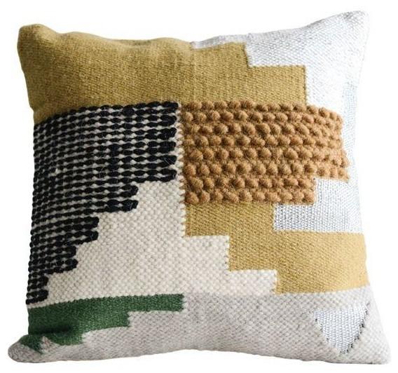 Wool Kilim Multi Pillow.