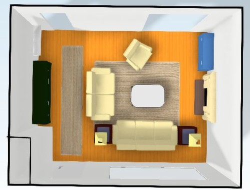 Small living room layout with tv dream house ideas for Small living room configurations