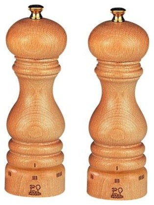 peugeot paris u'select salt and pepper mill set - contemporary