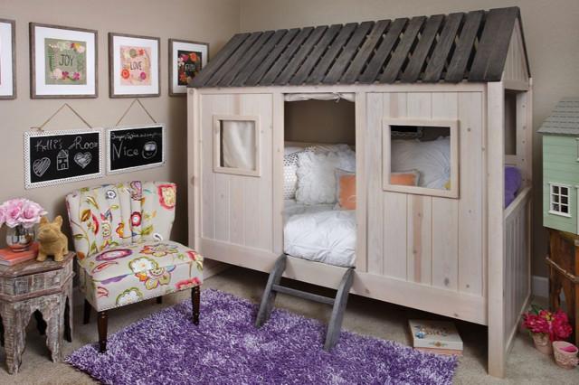 Gigi Fort Bed Farmhouse Kids