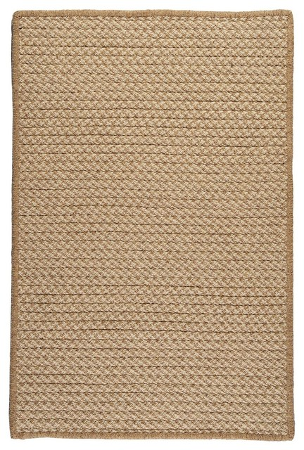 Colonial Mills Natural Wool Houndstooth Area Rug