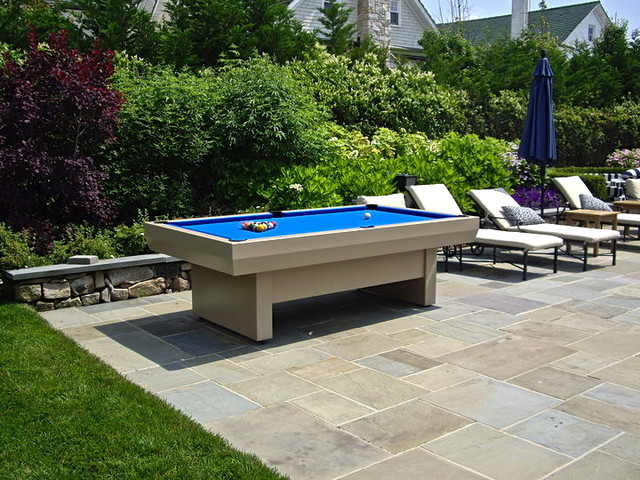 Penthouse II Outdoor Pool Table Modern Patio Furniture And Outdoor Furniture