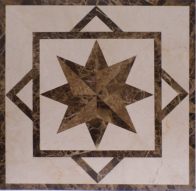 Traditional Floor Medallions And Inlays