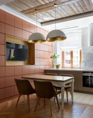 Кухня недели в бывшем доходном доме (9 photos)