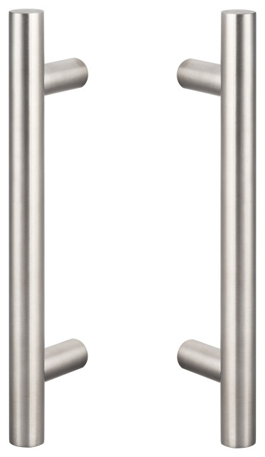 Double Sided Barn Door Ladder Handle Transitional Door Levers By Sure Loc Hardware Inc
