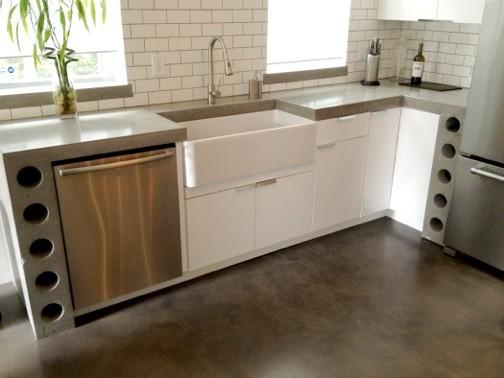 concrete design - modern - kitchen - other -concrete zen