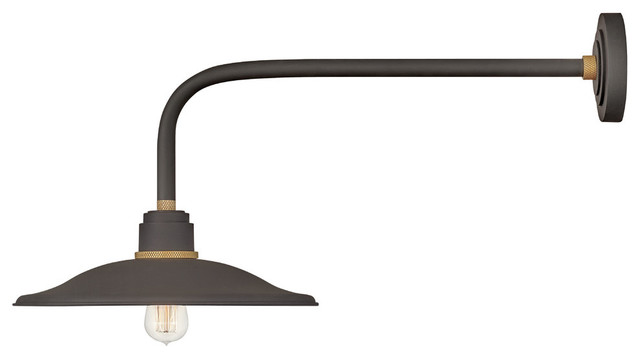 Hinkley Foundry Vintage Outdoor Light 10827MR, Museum Bronze