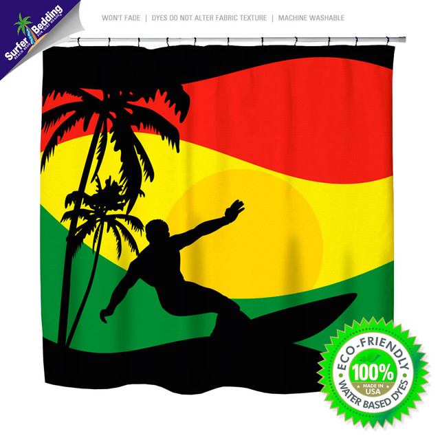 Beautiful Surfer Mon~ Reggae And Rasta Flavored Surfer Bedding