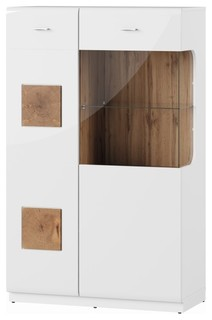 Wood 2 Doors Display Cabinet