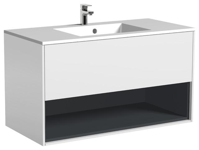 Bolonia Floating Bathroom Vanity, 39.