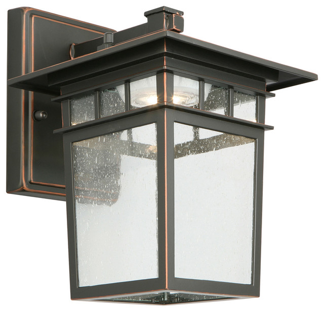 Dayton Led Outdoor Wall Light, Oil Rubbed Bronze.