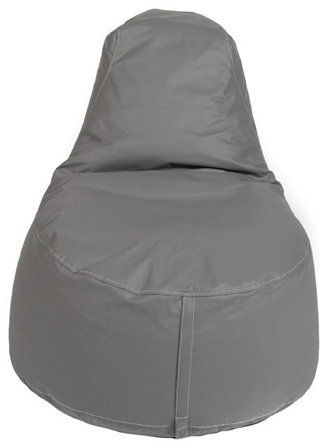 Prime Tech Leather Bean Bags Gray Kid Small Chair Frankydiablos Diy Chair Ideas Frankydiabloscom