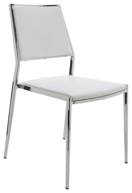 Nuevo Aaron Dining Chair Transitional Dining Chairs by – Aaron Chairs