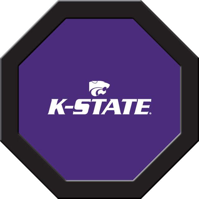 Shop Houzz Wave 7 K State Wildcats Purple Team Logo Game
