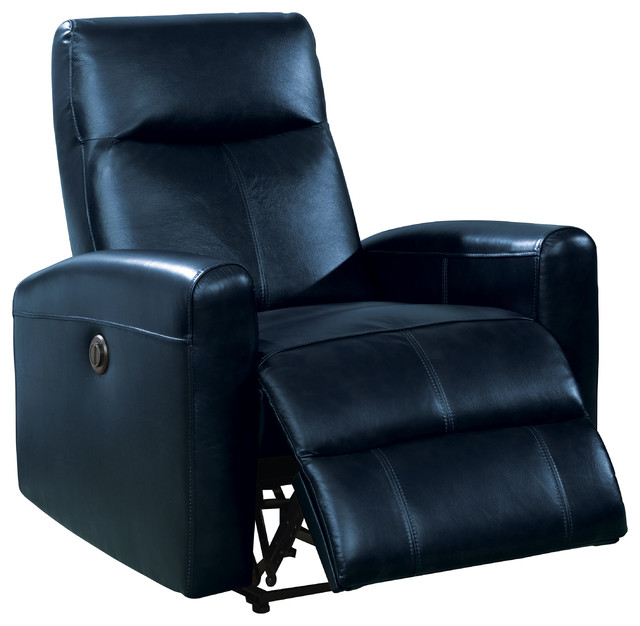 Blane Power Recliner Top Grain Leather Contemporary