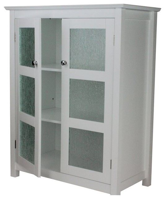 Double Doors Free Standing Bathroom Storage Cabinet Transitional Bathroom Cabinets By Amt Home Decor Houzz