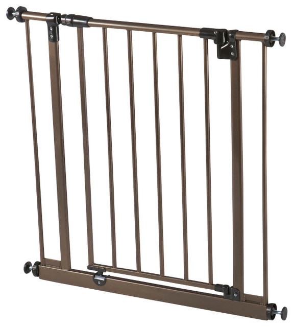 North States Deluxe Easy Close Metal Gate Amp Reviews Houzz