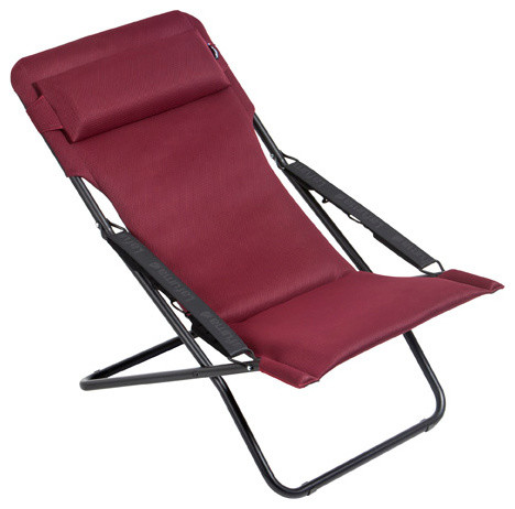 Awesome Lafuma Transabed XL Plus Folding Sling Chair, Bordeaux Modern Folding Chairs  And