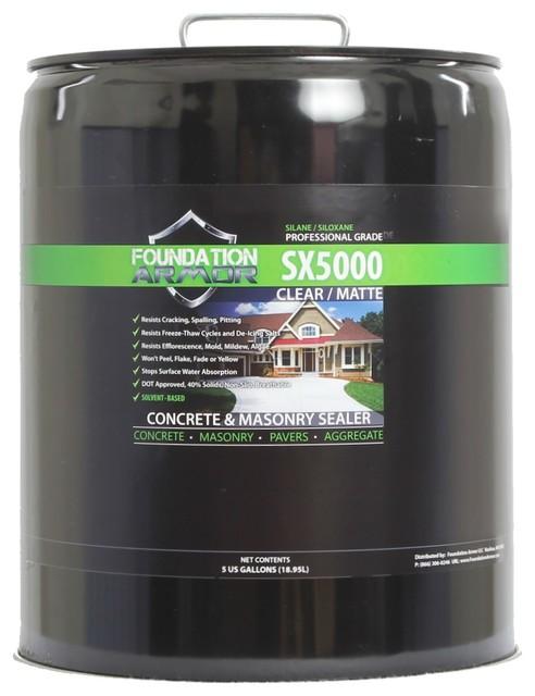 Sx5000 Dot Silane Siloxane Concrete, Brick, Masonry Water Repellent Sealer, Clea.