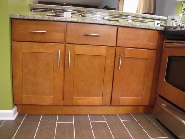 Autumn Shaker Kitchen Cabinets Minimalistisch