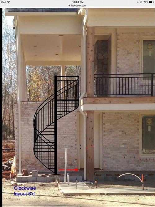 Digital Design Estimate For Spiral Staircase