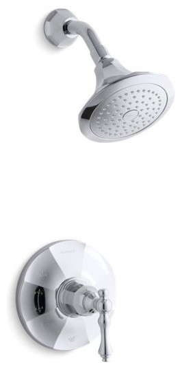 Kohler K-TS13493-4 Rite-Temp Shower Faucet Trim from the Kelston Collection