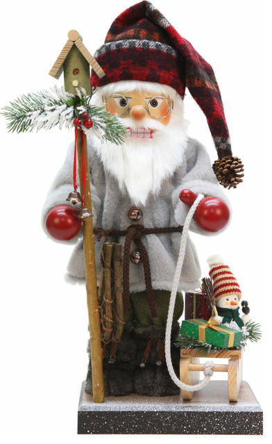 Christian Ulbricht Nutcracker, Santa With Sled, Limited Edition 1000 Pieces