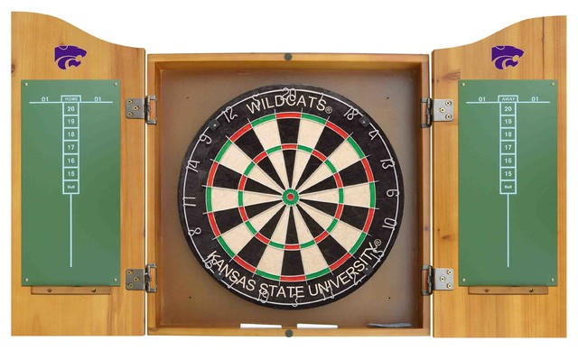 Imperial International - Kansas State University Dart Cabinet - View in Your Room! | Houzz