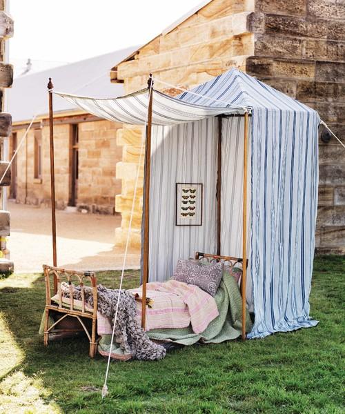 Camper dans le jardin : 10 idées déco et pratiques pour ...