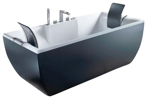 Kali Color Free Standing Bathtub Contemporary Bathtubs By Modo - Colored-bathtubs