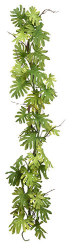 Silk Plants Direct Monstera Leaf Garland, Set Of 2.