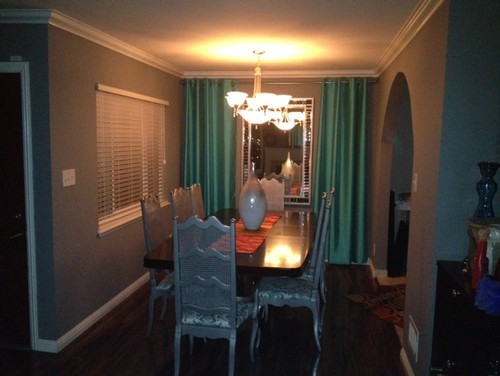Do i need curtains for Dining room no windows