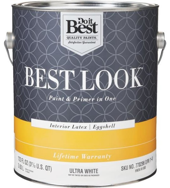 Best Look Latex Paint And Primer In 1 Eggshell Interior Wall Paint Paint By Hipp Modern