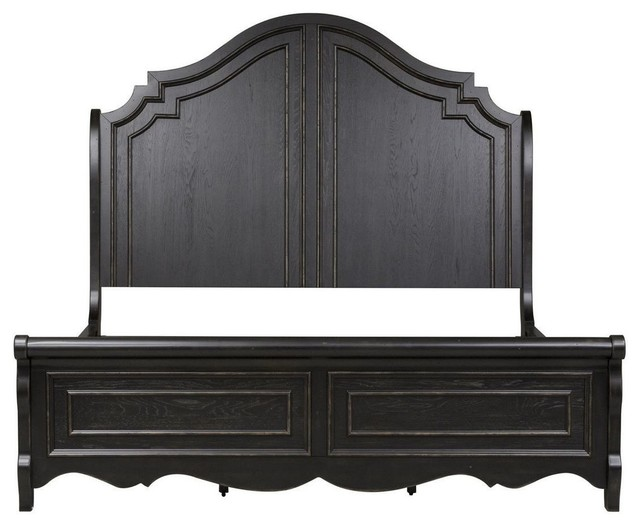Liberty Chesapeake Sleigh Bed, King.