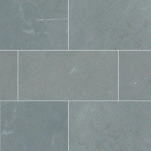 Gauged Montauk Blue Slate Tile Traditional Wall And Floor Tile