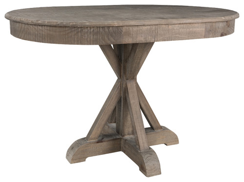 "Gerald 47"" Pine Oval Dining Table by Kosas Home"