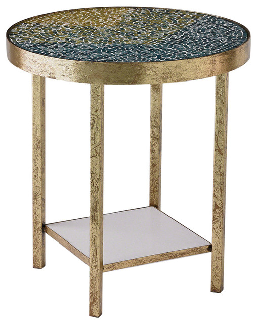 Global Views Global Views Tide Side Table View In Your Room Houzz