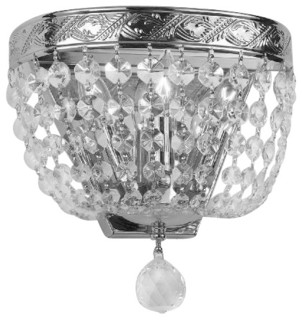 Wall Sconce With Crystal Ball : Empire Crystal Ball Sconce - Traditional - Wall Sconces - by Gallery